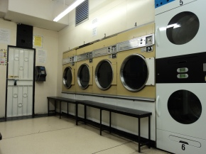 Why don't brands advertise in the launderette?